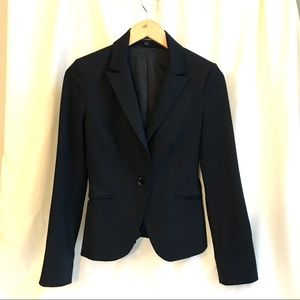 Notch Collar One Button Blazer (Express)
